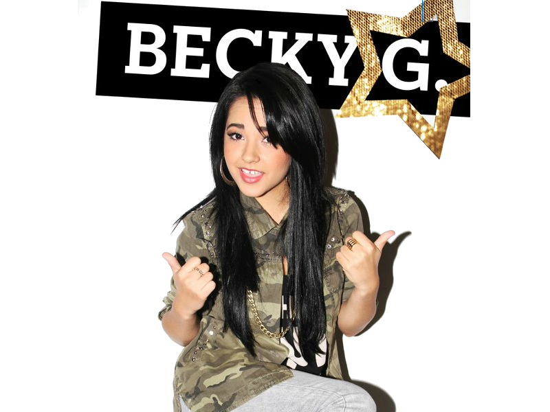 Becky G PNG File