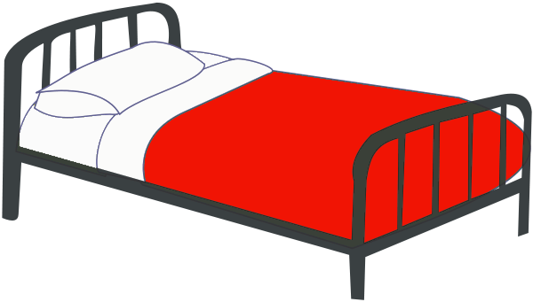 Bed Clipart-bed clipart-1