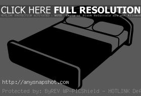 Bed Clipart Black And White Free Vector-Bed clipart black and white free vector-6