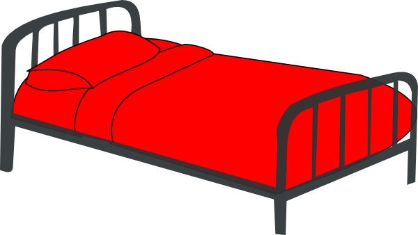 Bed Red Clip Art At Clker Com Vector Cli-Bed Red Clip Art At Clker Com Vector Clip Art Online Royalty Free-8