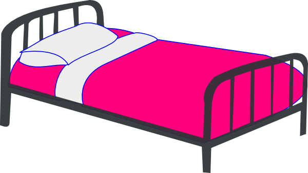 Bedroom Clipart-bedroom clipart-7