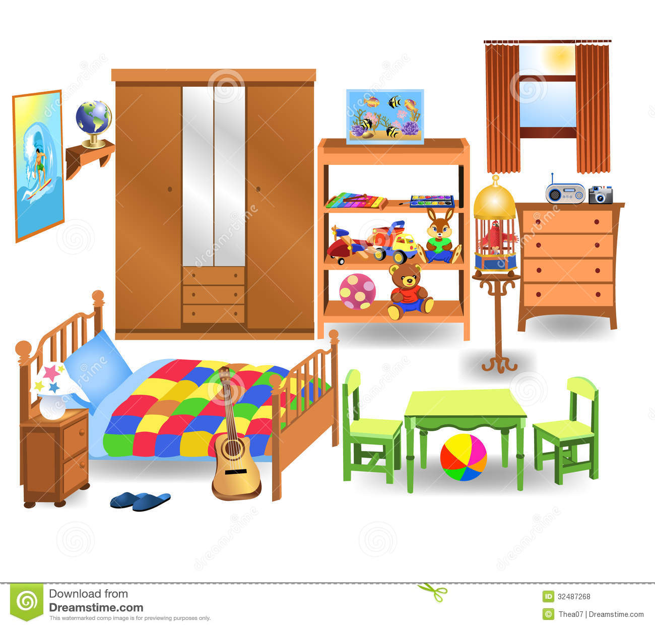 92 Bedroom Clipart Clipartlook