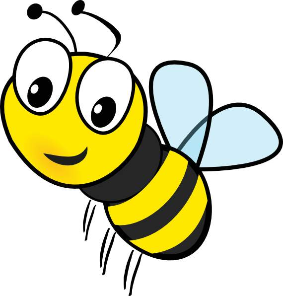 Bee Clipart-bee clipart-1