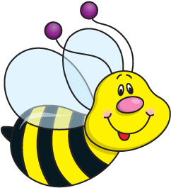 Bee clipart 4 free bee clip art drawings and colorful clipartwiz