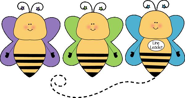 Bee Line Leader Clip Art Bee Line Leader Vector Image