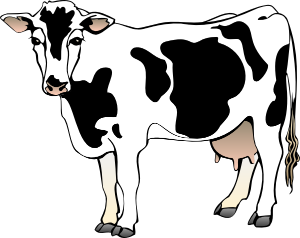 Beef Cow Clipart-beef cow clipart-1