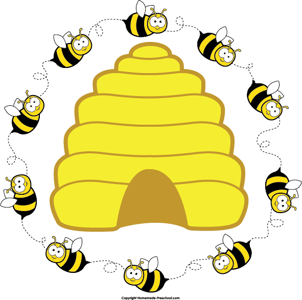 Beehive Clipart-beehive clipart-3