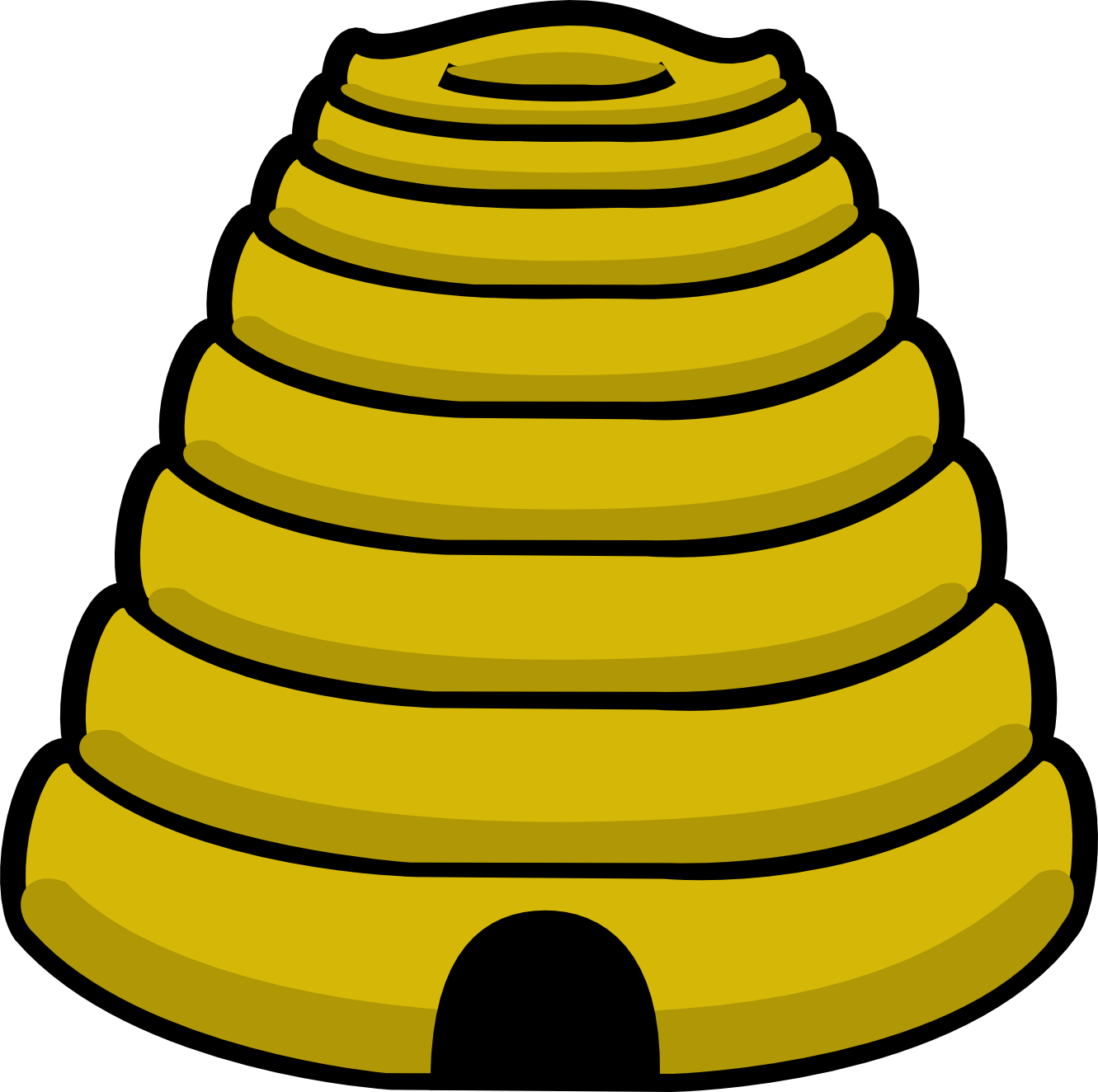 Beehive Clipart-beehive clipart-1