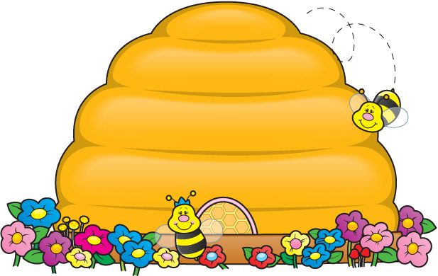 Beehive bee hive clip art images of clipart little bee free .