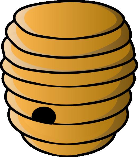Beehive Clip Art At Clker Com Vector Clip Art Online Royalty Free