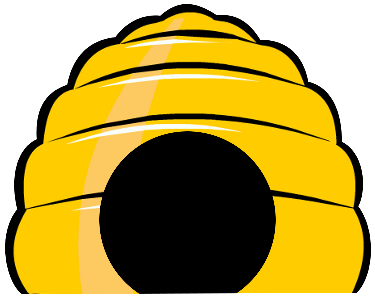 Beehive Clipart #23949