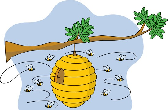 Beehive Clipart-Beehive Clipart-9