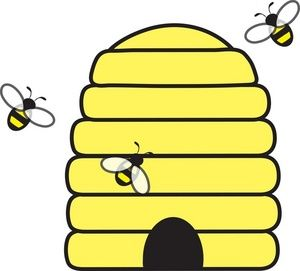 Beehive clipart free images 2 image