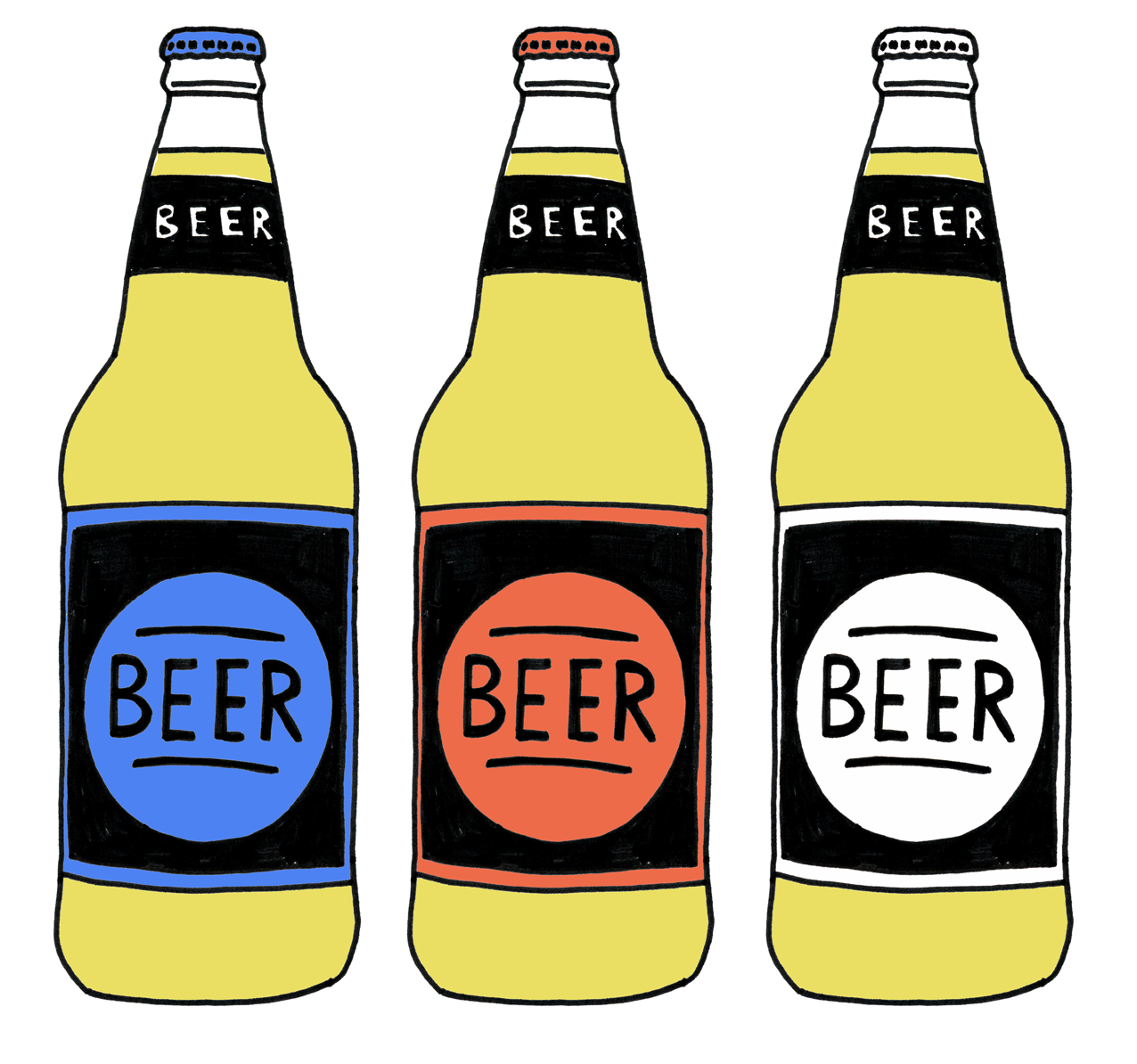 Beer Bottle Drawing Clipart Best-Beer Bottle Drawing Clipart Best-6