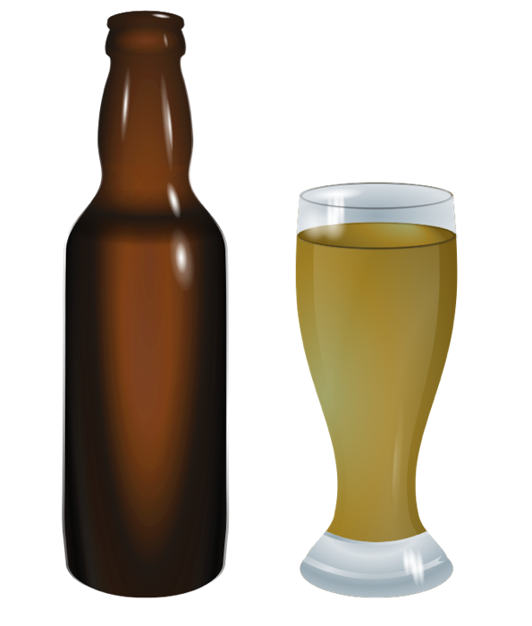 Beer Bottle Green PNG Clipart. Beer Bott-Beer Bottle Green PNG Clipart. Beer Bottle and Glass-7