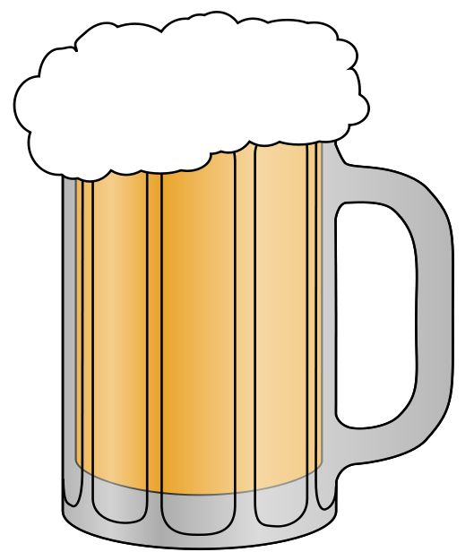 Beer Clip Art u0026amp; Images - Free for Commercial Use