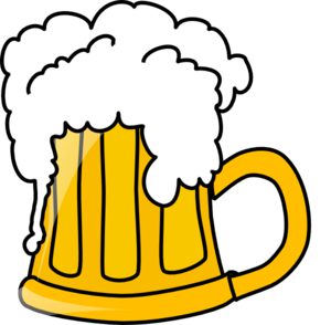 Beer Flowing Clip Art At Clker Com Vector Clip Art Online Royalty