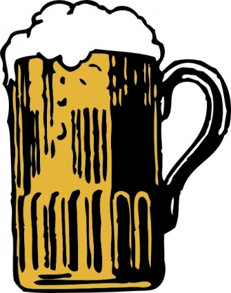 Beer Mug clip art Vector clip art - Free vector for free download