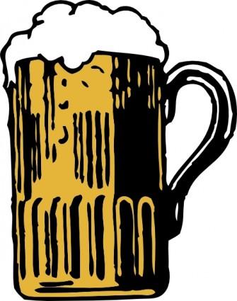 Beer Mug clip art Vector clip art - Free vector for free download