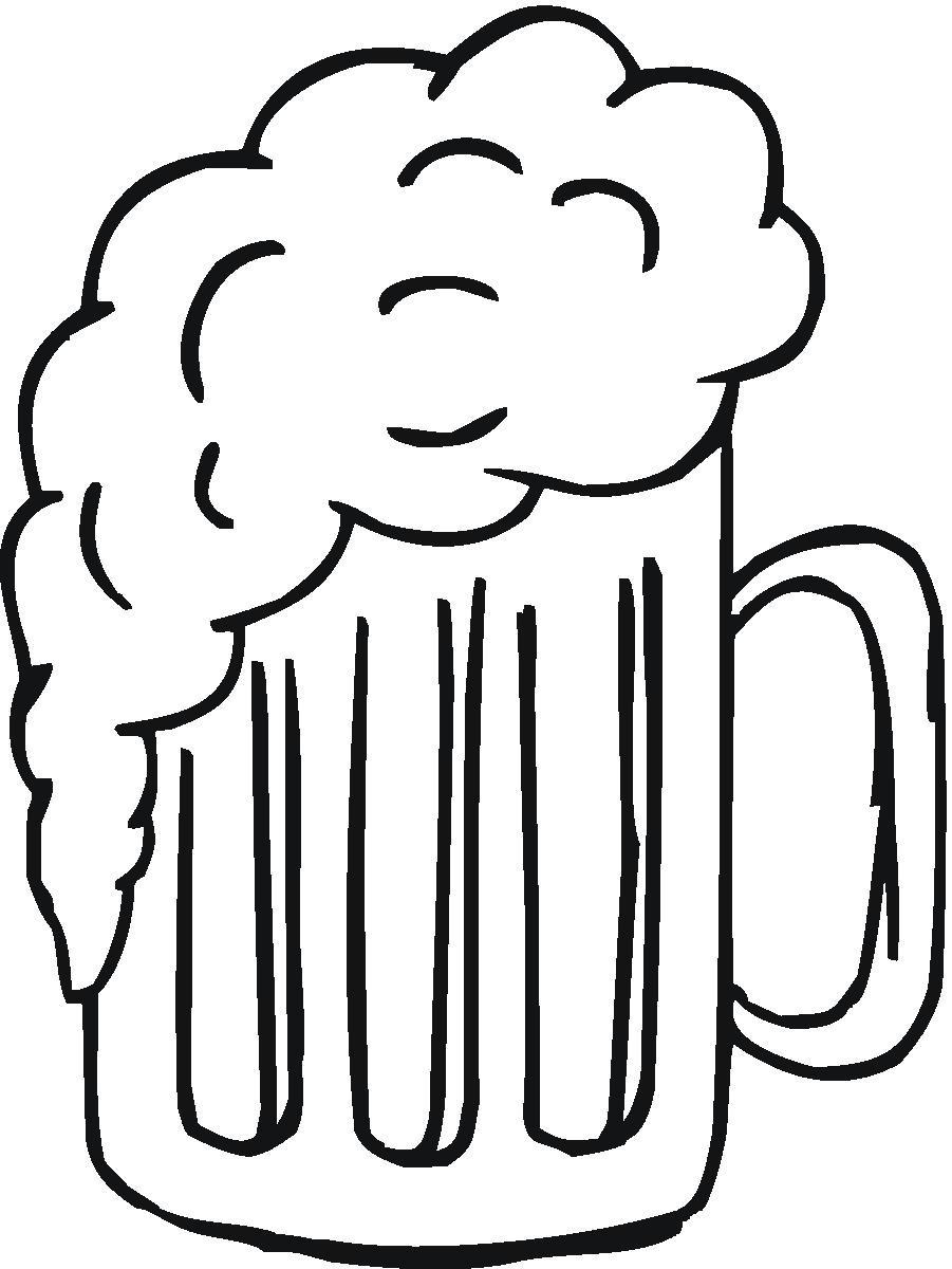 Beer Mug Koozie Clip Art