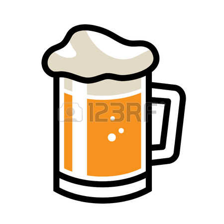 beer stein: Beer Mug Vector Icon