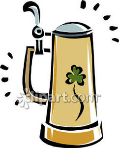 ... beer stein with a lid royalty free clipart picture ...