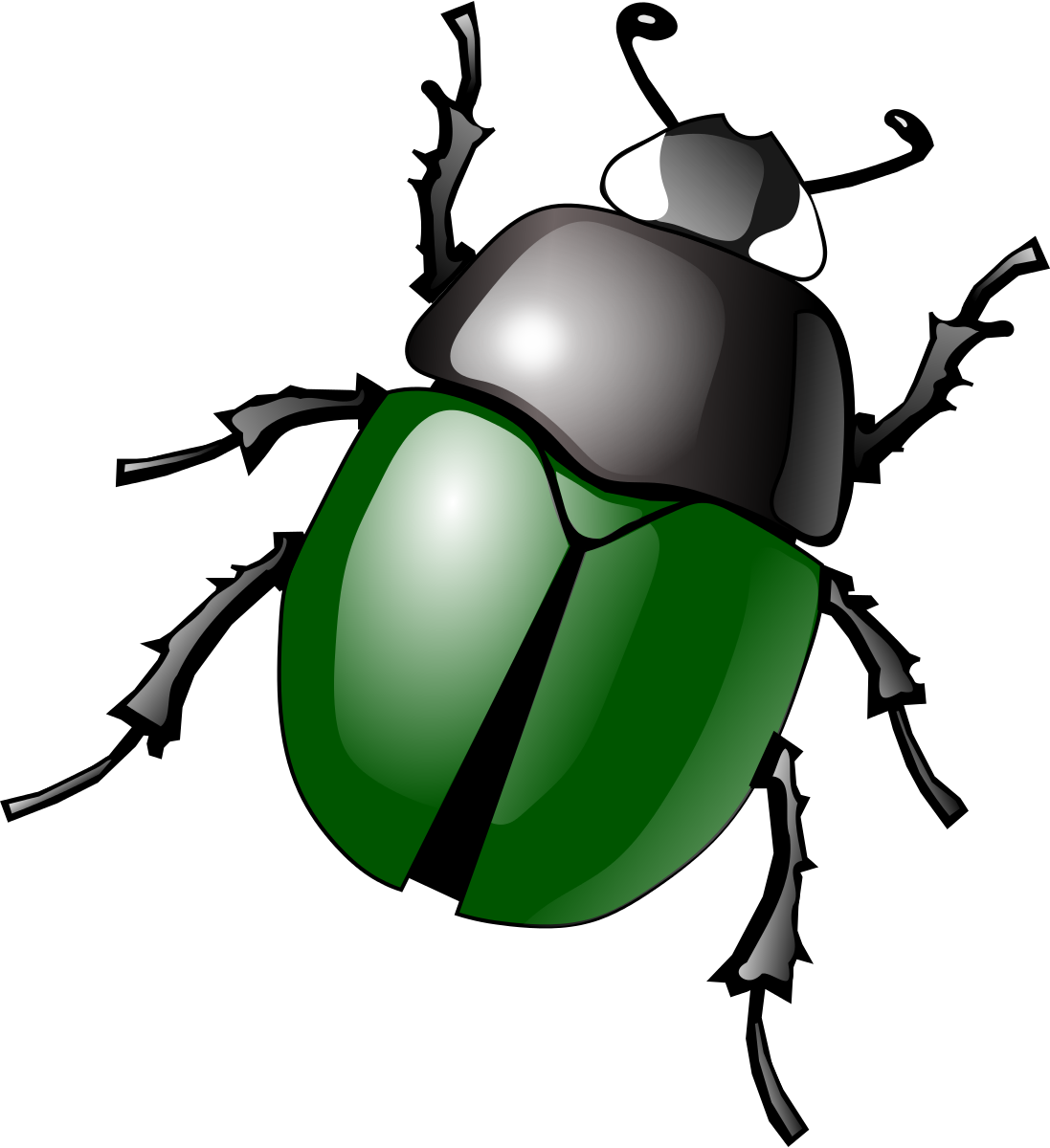 Stag Beetle Clip Art At Clker