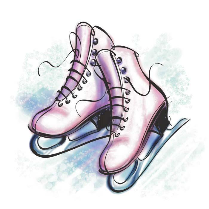 Ice Skate Clipart