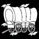 Beka Book Clip Art Covered Wagon
