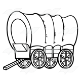 Covered Wagon Clipart