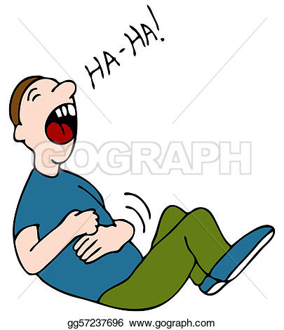 Belly Laugh - Laugh Clip Art