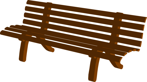 Bench Clip Art At Clker Com .-Bench Clip Art At Clker Com .-1