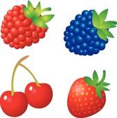 Berries cliparts