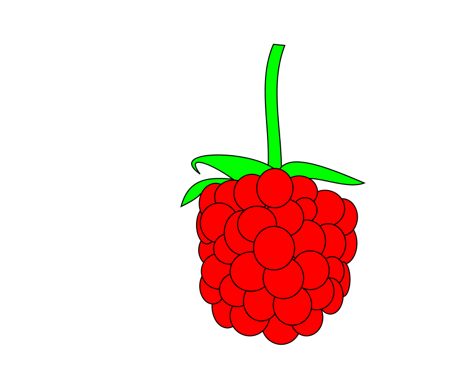 Raspberry Clipart at GetDrawings