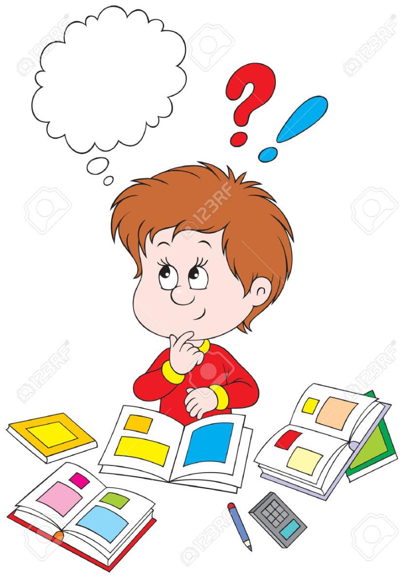 Best Child Thinking Clipart #14276 - Cli-Best Child Thinking Clipart #14276 - Clipartion clipartall.com-6