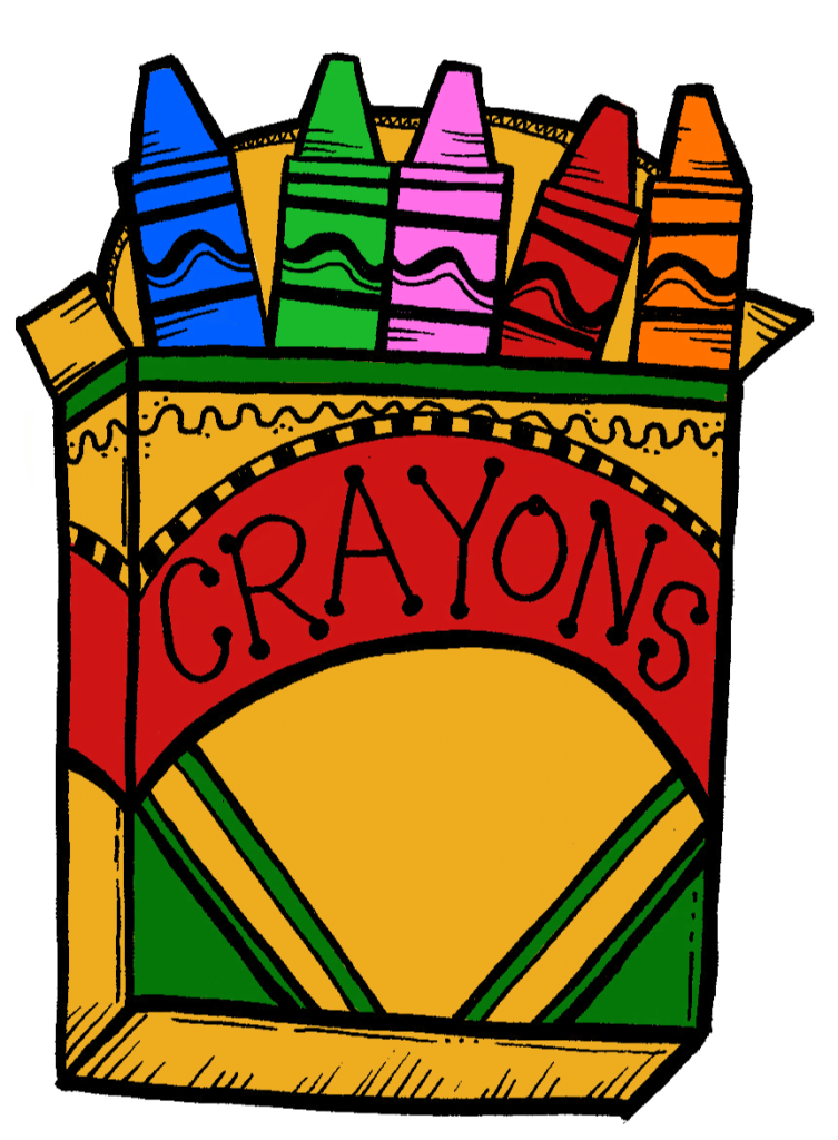 Clipart Crayons