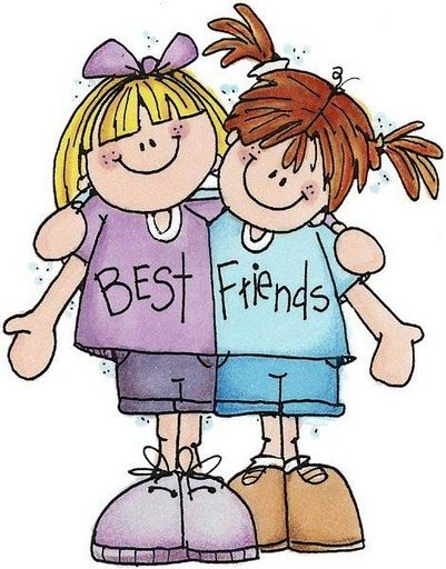 Best Friends Clip Art