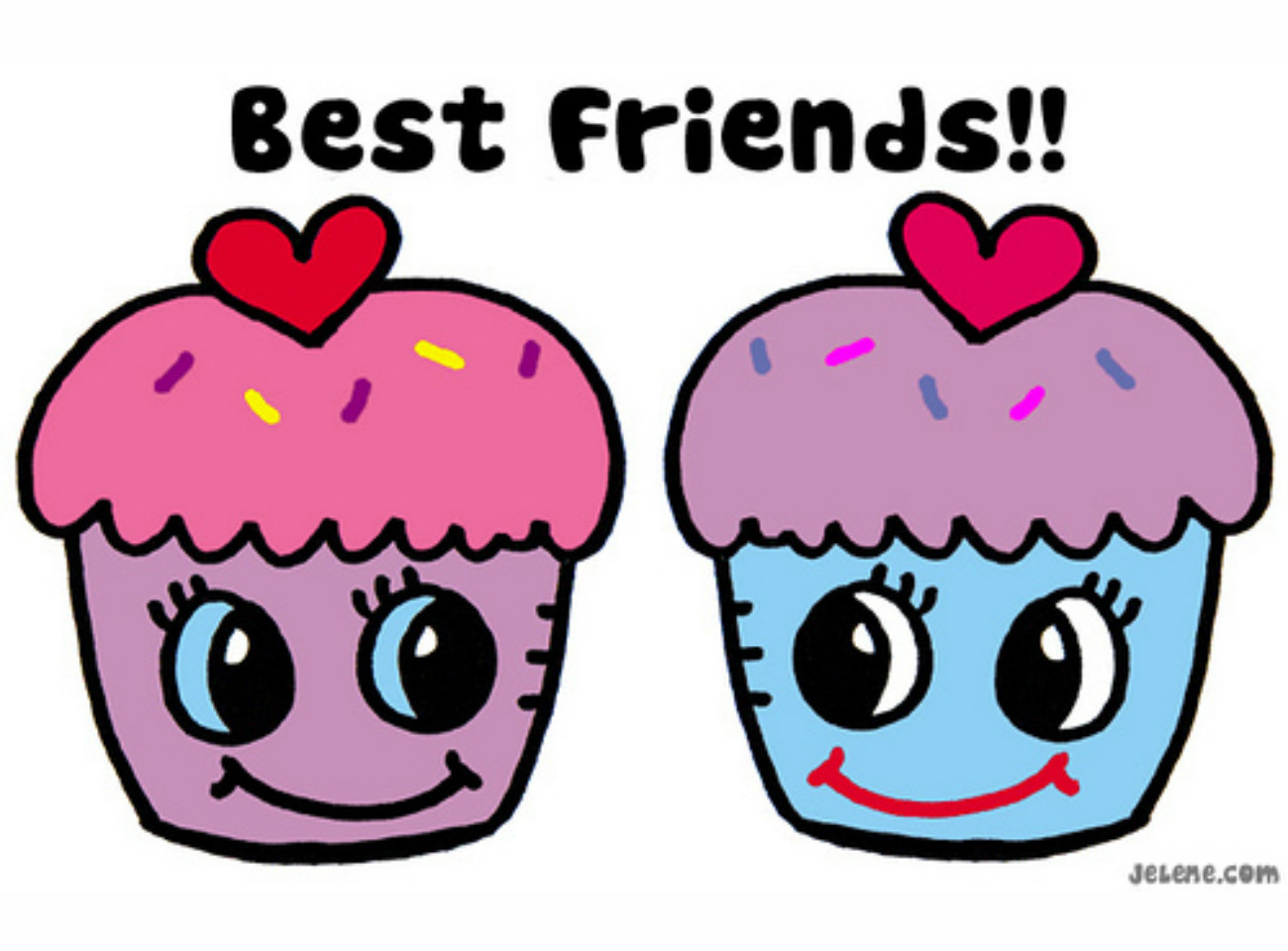 Best Friend Day Clip Art and Text Banner | Download Free Word