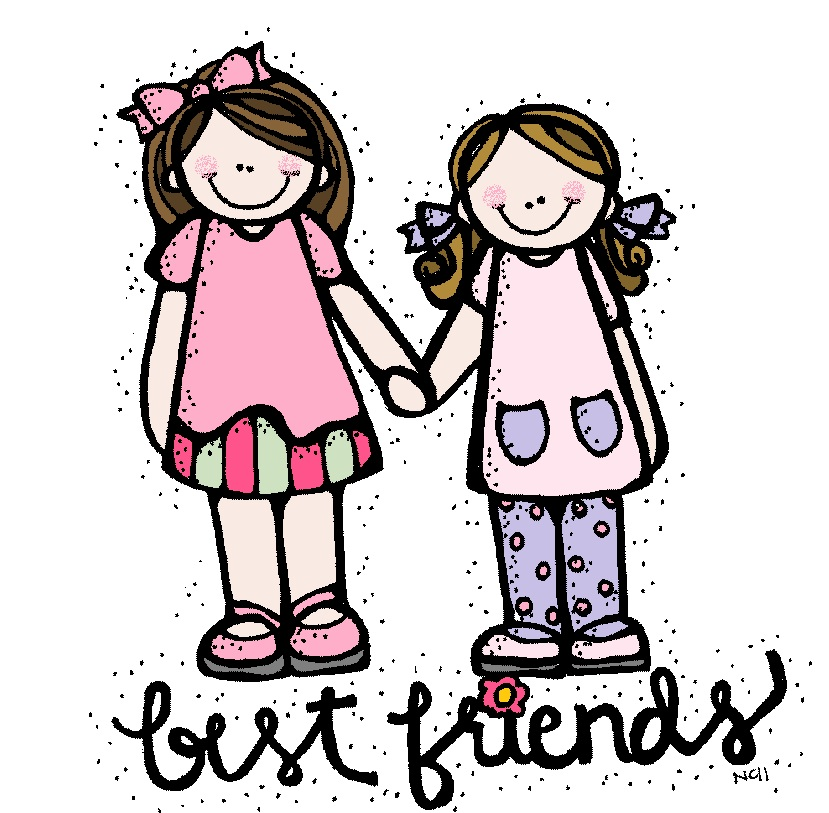 Best Friends Clip Art