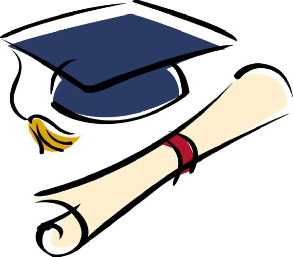 Best-graduation-clipart-7-fre - High School Graduation Clip Art