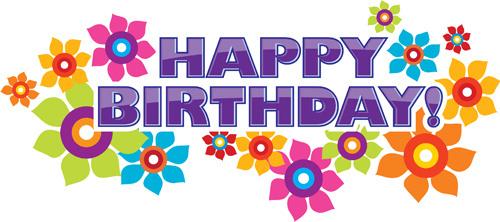 best happy birthday design elements vector set