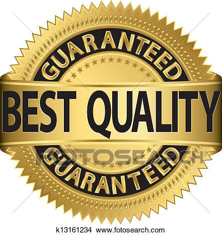 Clipart - Best Quality Guaranteed Golden-Clipart - Best quality guaranteed golden labe. Fotosearch - Search Clip  Art, Illustration Murals-7