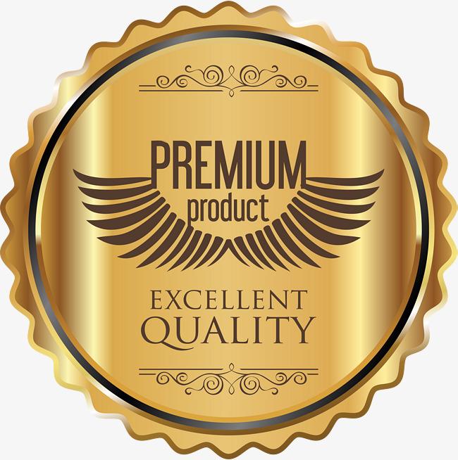 Metal Texture Quality Badge, High Qualit-metal texture quality badge, High Quality, Product Label, Gold Badge PNG  Image and-16