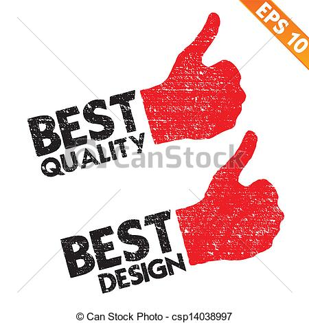 Stamp Sticker Best Quality Tag Collectio-Stamp Sticker Best Quality Tag Collection - Vector Illustration - Eps10-18