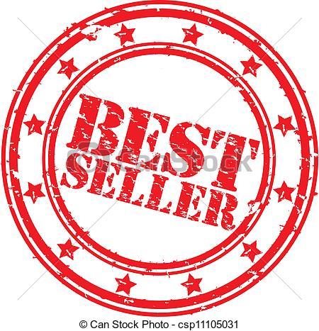 Grunge best seller rubber stamp, ve - csp11105031