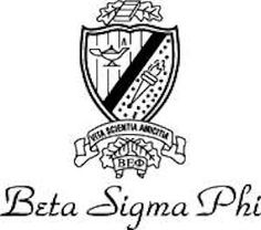 Beta Sigma Phi. Crest .-Beta Sigma Phi. Crest .-7