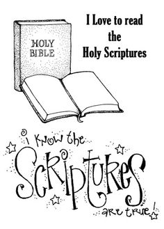 Bible and book of mormon clipart - ClipartFest