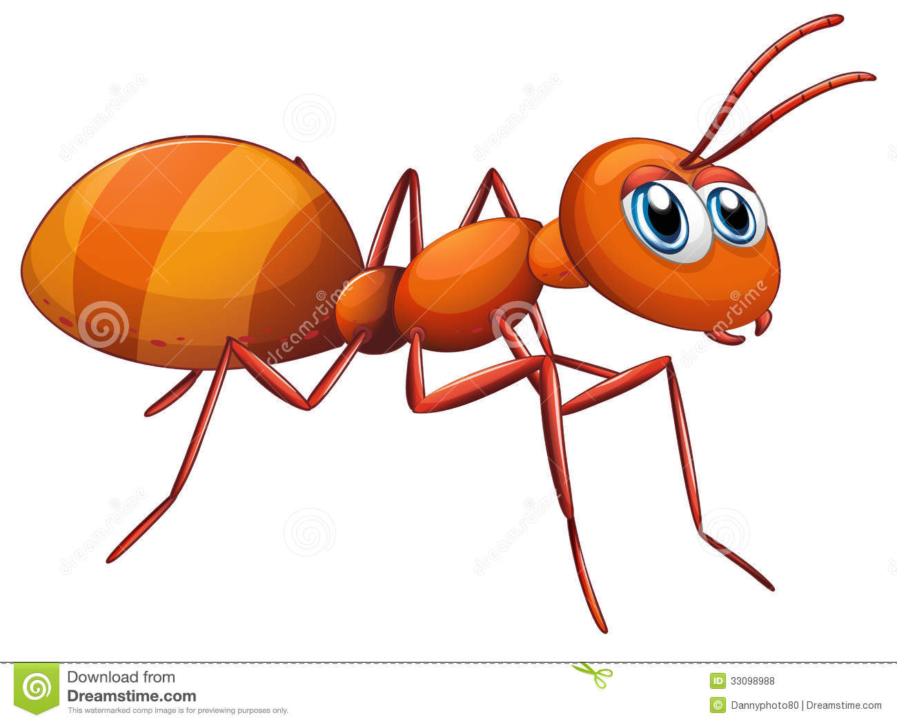 Big Ant Royalty Free Stock Photos Image 33098988
