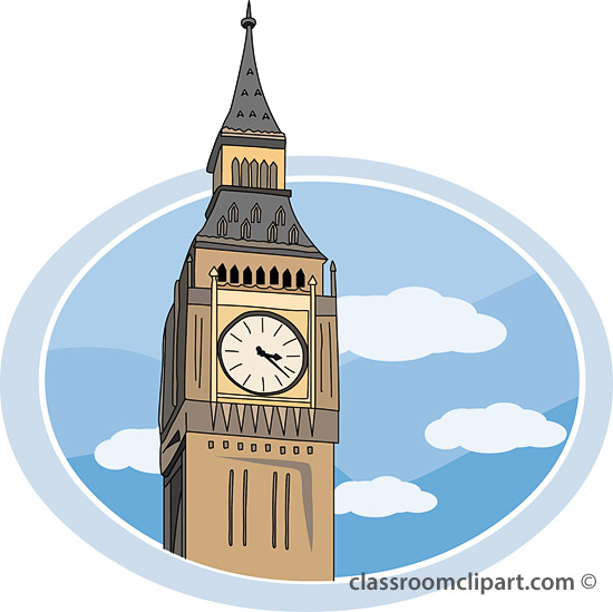 Big Ben Clock Clipart Best