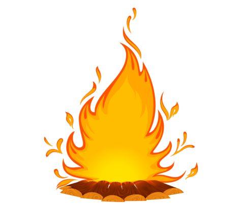 Big Bonfire Clipart Free Clip Art Images